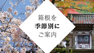 箱根を季節別にご紹介