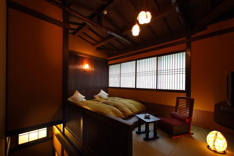 露天風呂付特別室|山の灯|88㎡